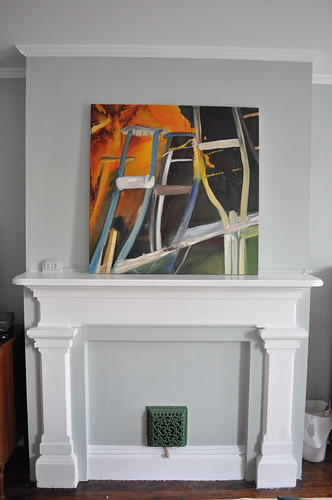 master bedroom mantel
