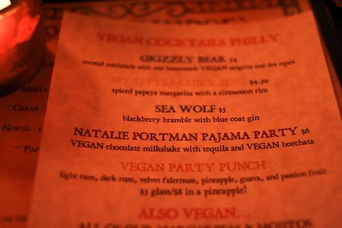 vegan cocktails philly