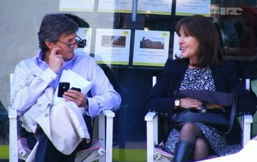 Nigel Havers and Elisabeth Sladen