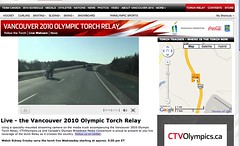 Live Webcam @ Vancouver 2010 Olympic Torch Relay