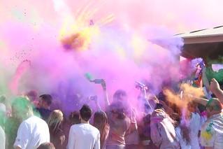 Holi Festival of Colors, Utah 2010 - Chalk Exp...