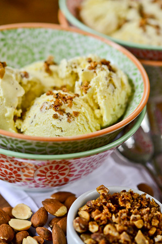 Salted Almond Ice Cream