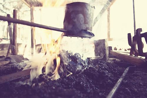 Wetting The Coals