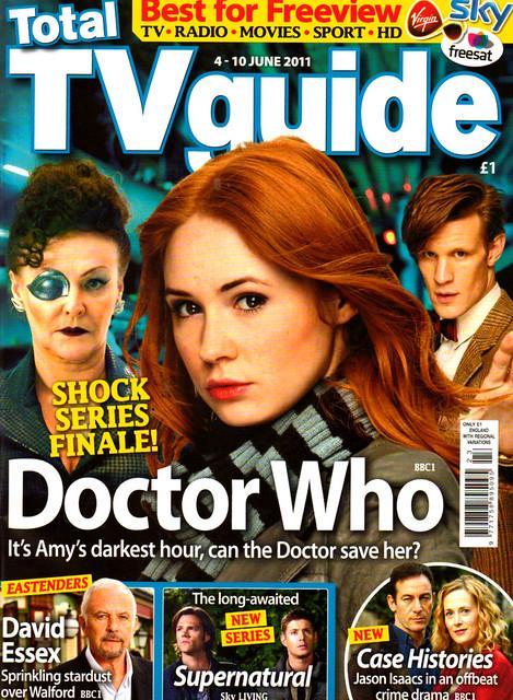 Total TV Guide 4-10 June 2011 Cover
