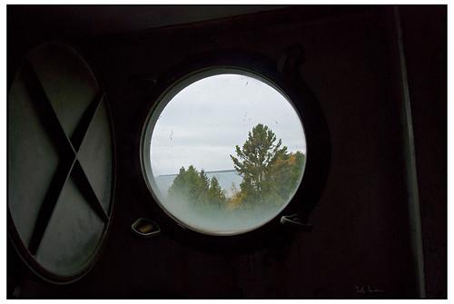 Porthole - Cana Island Lighthouse