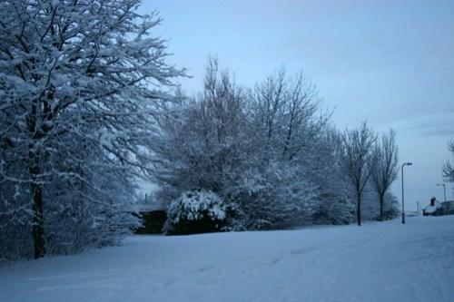 Bradford in the Snow