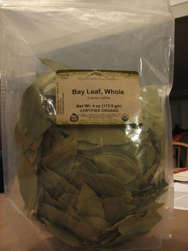 Quarter pound of bay leaves