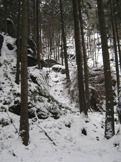 Zugang zum Jortan (ab der der Hälfte des Weges gesperrt)