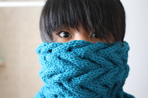 Knit Cable Cowl