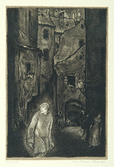 """""""The appearance of the Golem,"""" page ..."""