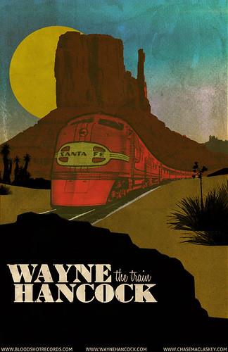 Wayne Hancock Poster (Desert)
