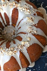 Kabocha-Maple Sour Cream Coffee Cake 1