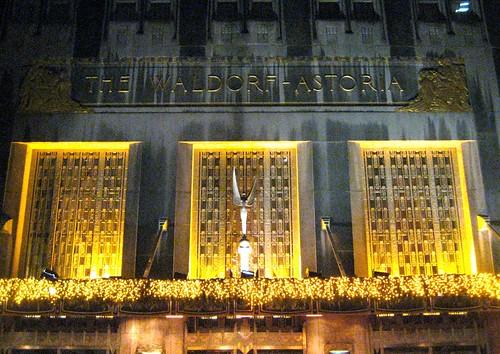 Waldorf - Astoria Hotel NYC