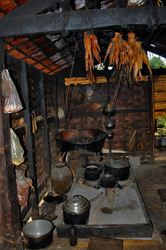 Kitchen in the Ban Luong Kwai Guest House