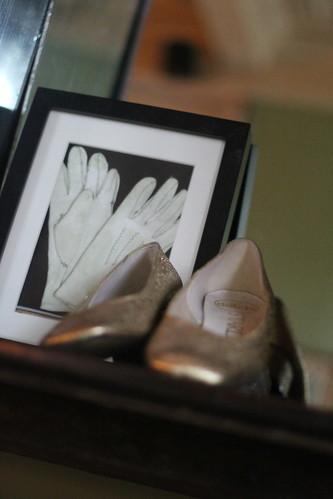 Glove in shoe