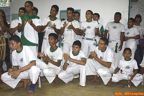 Capoeira Senzala Negra 17 por você.