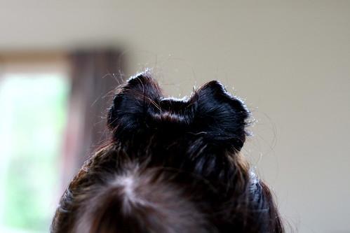 Hair Bow Detail