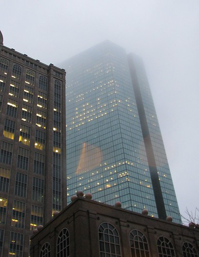 Hancock in the mist