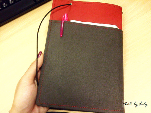 KOKUYO SYSTEMIC 工作用筆記本背面。