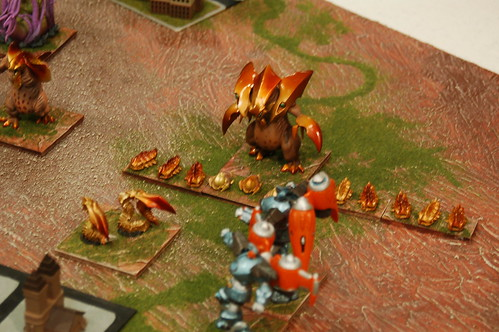 Hordes of the things game using Monsterpocalypse