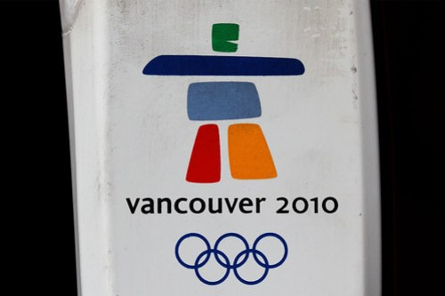 A used Vancouver 2010 Torch