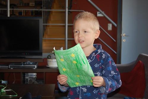 Rune leest nieuwjaarsbrief