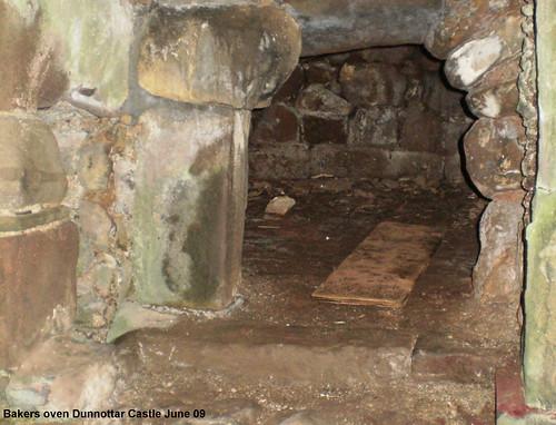 Bread oven, Dunnottar Castle, Stonehaven, Scotland