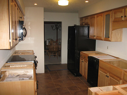 New Cabinets w/ Appliances