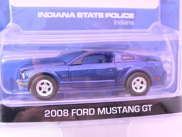 greenlight hot pursuit 2008 ford mustang gt indiana state police (2)