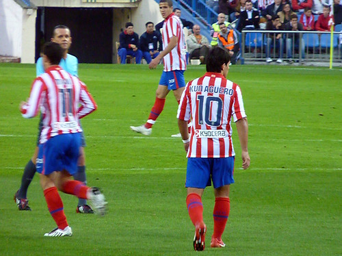 Atleti player Kun number 10