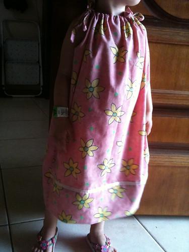 First pillow case dress