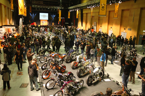 Builders from over 20 countries competed at the 2010 AMD European Championship of Custom Bike Building
