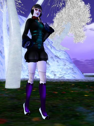 +Rainbow Goth+ V