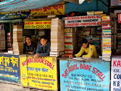 Book stalls on College Street