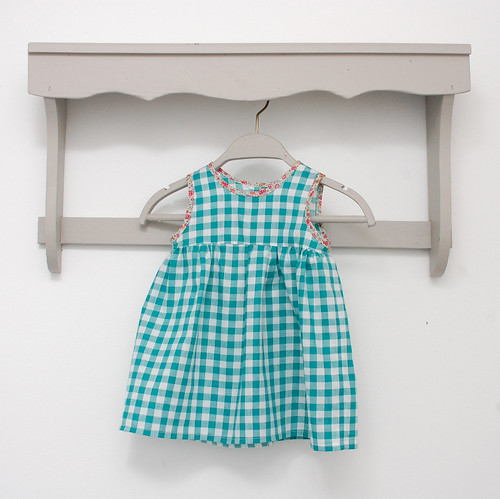 robe F verte devant
