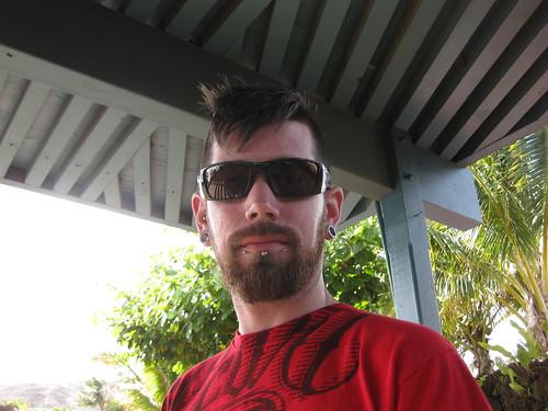 Taylor at the Maui Ocean Center