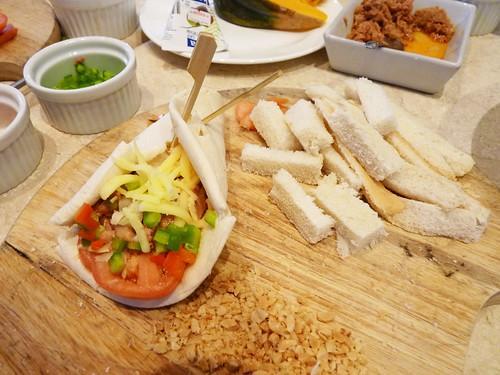 Chili Corned Tuna Shawarma