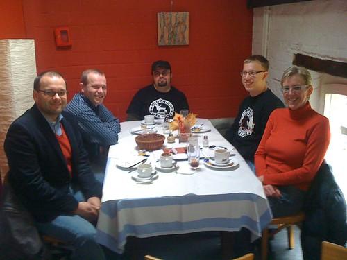 Twittertreffen im Café Kostbar