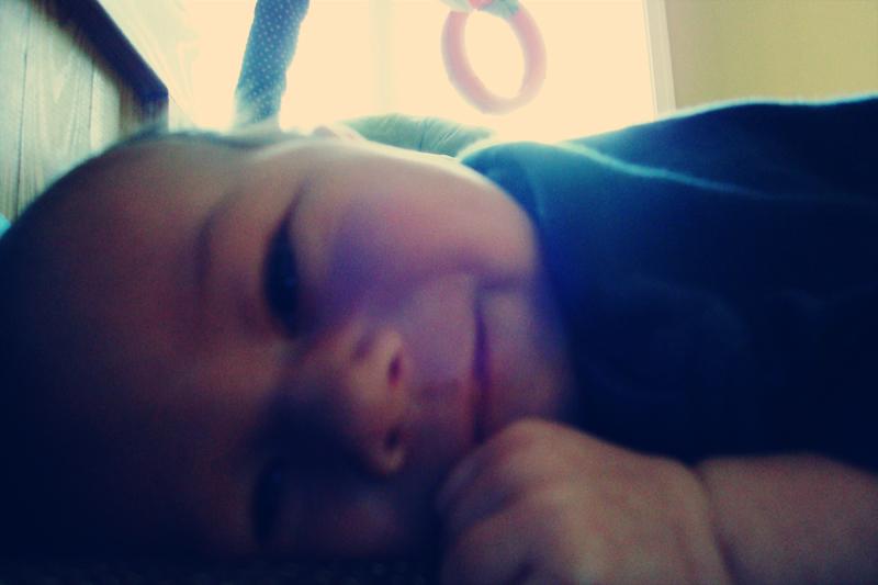 tummy time smiles