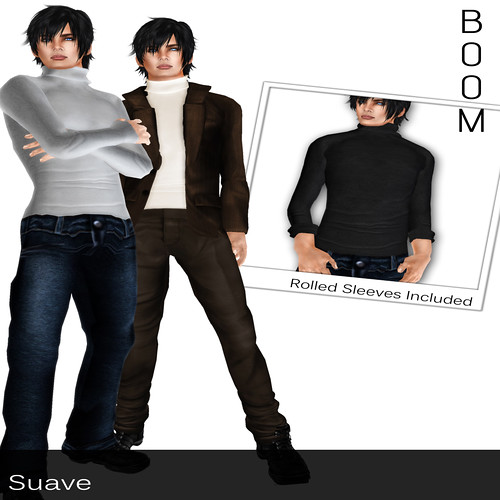 _BOOM_ Basic Turtlenecks (homme)