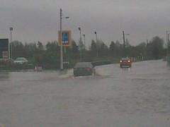 Flood images - Athlone, Nov 27th, 2009