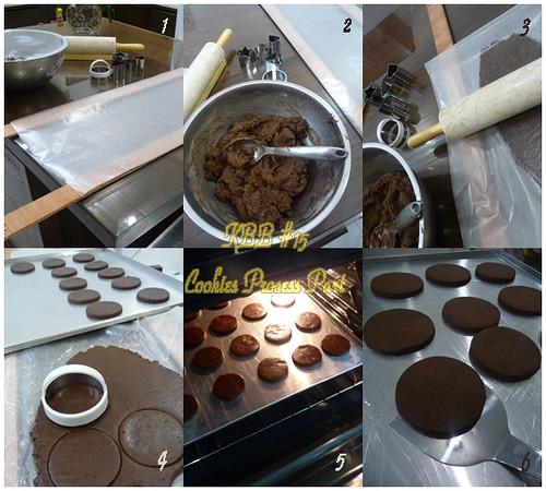 Cookies dough to cut Process