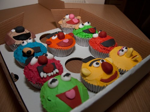 Cirencester Cupcakes - Character Cupcakes