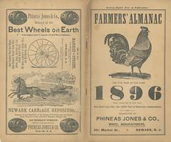 Farmers' Almanac 1896 - Presented By Phineas J...
