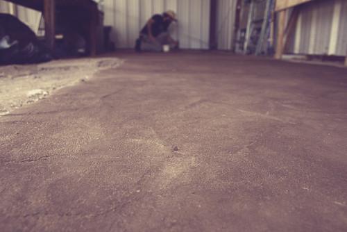 Handmade Adobe Floor