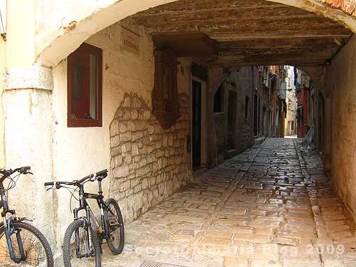 The streets of Rovinj