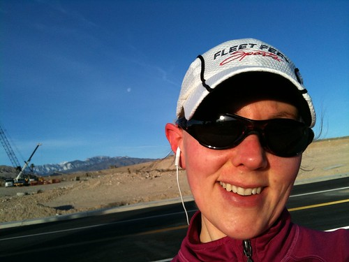 Jill running on January 3