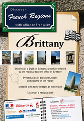 Poster French Regions: Brittany