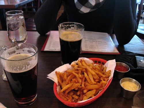 beer & fries