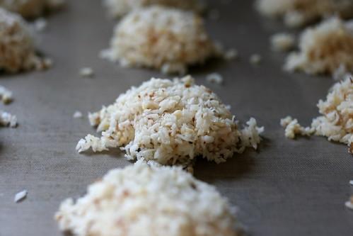 raw/vegan/gluten-free macaroons